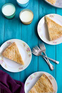 Gateau Basque Cake - #recipe at cali-zona.com