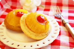 Mini Pineapple Upside Down Cakes - The Comfort of Cooking