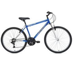 Ready for all of your on and off road adventtures, this men's Mantis Raptor 26 M MTB Hardtail bicycle combines a durable steel hardtail frame and the dependable performance of of a front suspension fork to smooth every trail. In blue. Mountain Bike Shop, Black Mountain Bike, Mountain Bike Tires, Hardtail Mountain Bike, Mountain Bike Frames, Mountain Biking, Hardtail Mtb, Mtb Bicycle, Bicycle Maintenance