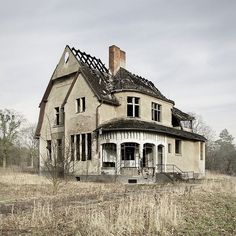 """""""abandoned farm house - someone fix this place up! It looks like it has good…"""