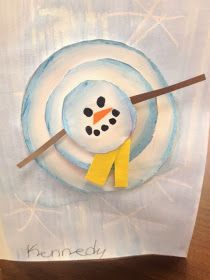 The Colorful Art Palette: Week 16 & 17 Winter in the art room