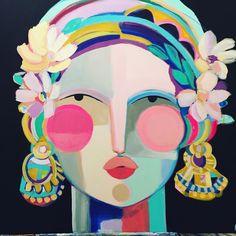 Butter Cookies- Butter Cookies Happy art makes me happy. Happy Art, Painting Inspiration, Art Inspo, Design Inspiration, Inspiration Artistique, Atelier D Art, Abstract Photos, Face Art, Cool Art