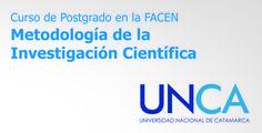 Curso de Postgrado en la FACEN: Metodología de la Investigación Científica // #UNCA #Catamarca #universidad