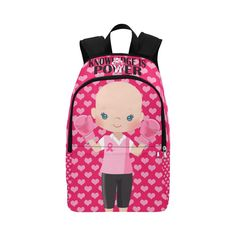 Excited to share this item from my shop: Cancer Awareness Backpack or Lunch Bag. Custom Backpacks For Girls. Fight Like a Girl. Back To School Backpacks, Boys Backpacks, Girls Be Like, Little Girls, Backpack Essentials, Nurse Bag, Cancer Fighter, Toddler Backpack, Childhood Cancer Awareness