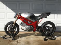 sv650  can't get much more naked than
