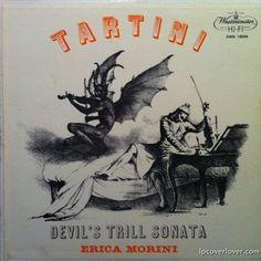 """Tartini"" (""Devil's Trill Sonata"") Violinist, Erica Morini Westminster Records"