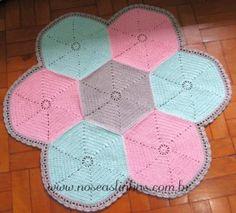 Tapete Hexagonal 01