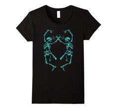 Halloween Dancing SKELETON Shirt (Men- Women- Kid)