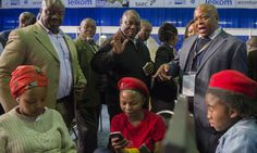 JOHANNESBURG (AP) — South Africa's ruling party has suffered its biggest election setback since taking power at the end of apartheid a generation ago, with r...