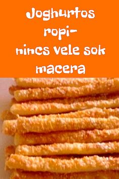 Nincs vele sok macera! #sós Wine Recipes, My Recipes, Crockpot Recipes, Cooking Recipes, Bread And Pastries, Crunches, Food To Make, Vegetarian Recipes, Food And Drink