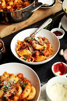 Braised Chicken and Mushroom Ragu | Joy the Baker