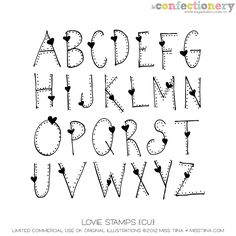 SHCO Confectionery - CU - Doodles/Brushes - SugarHillco. Love Stamp alpha. *