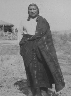 Chief Tendoy's son, 1930's Fort Hall Reservation. Lemhi Shoshone