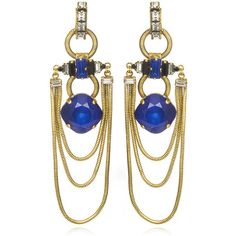 Erickson Beamon Safari Earrings ($355) found on Polyvore