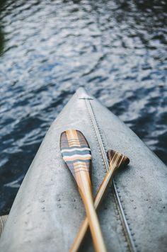 Beautiful wooden oars.