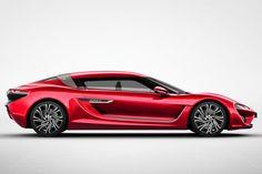 Ha un telaio in fibra di carbonio, spazio per quattro, 1.090 CV di potenza ed è elettrica. L'autonomia? 800 km, da record.