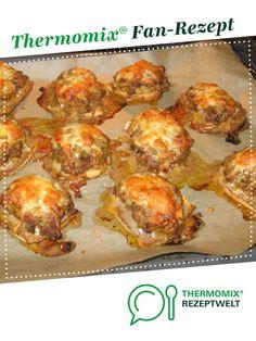 Überbackene Brötchen mit Hackfleisch und Paprika von sannetaucht. Ein Thermomix ® Rezept aus der Kategorie Hauptgerichte mit Fleisch auf www.rezeptwelt.de, der Thermomix ® Community.