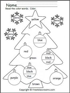 130 Best Christmas worksheets preschool images in 2019