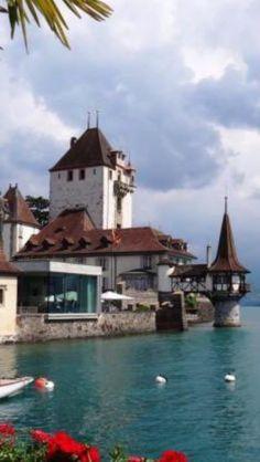 Schloss Oberhofen - Thunersee, Switzerland