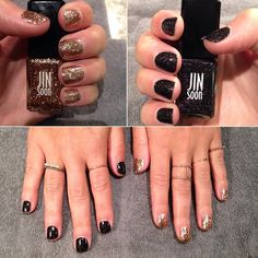 Sparkling this #manimonday with Jin Soon