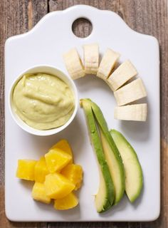 Avocado + Pineapple + Banana Puree — Baby FoodE | organic baby food recipes to inspire adventurous eating