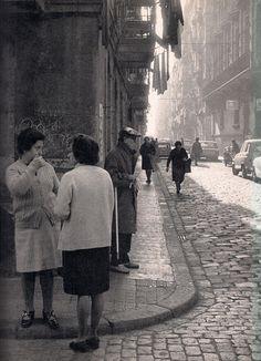 La Barceloneta años 60, Foto Francesc Catalá Roca.