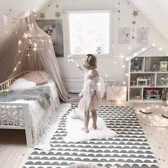 Baby Playroom Interior with Solid Color Cotton Bed Canopy Inspiration - bed. - Baby Playroom Interior with Solid Color Cotton Bed Canopy Inspiration – bed canopy diy, bed - Baby Bedroom, Girls Bedroom, Bedroom Decor, Toddler Bedroom Girls, Girl Kids Room, Toddler Princess Room, Girls Princess Bedroom, Room Baby, Trendy Bedroom