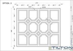 Bespoke Coffered Ceiling Design 12