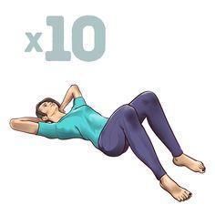 Mal di schiena: Come alleviare il dolore con un solo minuto di Esercizi