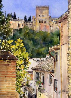 Alhambra desde el Albaicin