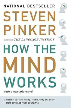 How the Mind Works by Steven Pinker 8/10 A fascinating book. I really enjoyed the evolutionary and genetic perspective of human behavior in the middle sections. The first and last few chapters were dry and a bit boring for me, with technical info on computer programming and reading music.
