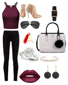 """""""Untitled #6"""" by taylorgrant2006 on Polyvore featuring beauty, Larsson & Jennings, Gucci, Steve Madden, GUESS, Yves Saint Laurent, Anita Ko, Astley Clarke, Lime Crime and Fendi"""