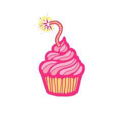 cupcake bomb logo
