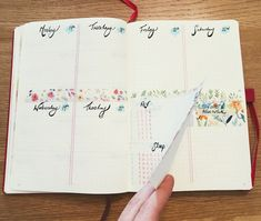 Bullet Journal Hacks Dutch Door