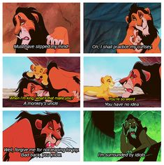 "Scar (Jeremy Irons), the main antagonist from ""The Lion King"""