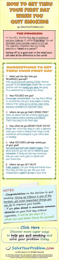 What you can do on day one to distract yourself from smoking.