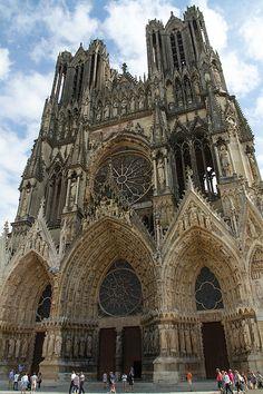 Cathédrale Notre-Dame de Reims, Champagne-Ardenne, France
