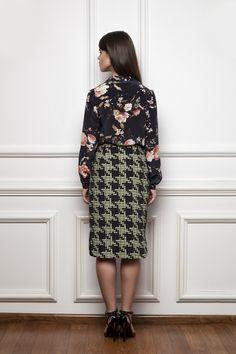 Autumn Winter 2014 Collection Mirage - By Parul Bhargava Fall Winter, Autumn, High Neck Dress, Collection, Dresses, Fashion, Vestidos, Moda, Fall