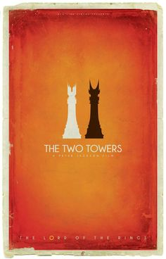 The Two Towers by Patrick Connan