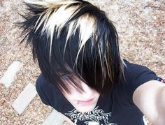 Emo hairstyle for guys