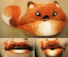 """Paige Thompson a.k.a Viridis-Somnio, a body paint artist from United States, has been creating this adorable series of lipstick art animals called """"Animal-ipsticks"""" Continue reading"""