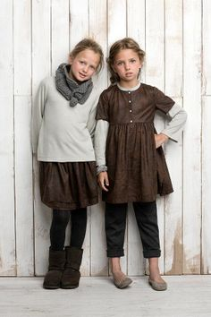 Click for a whole board of cute and stylish modest clothing for little girls!