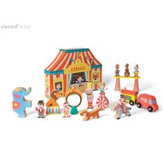 Janod Circus Story Box                                                                                                                                                                                 More