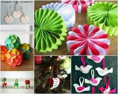 Diy Paper Decorations Google Search Xmas Ornaments Modern Christmas Outdoor