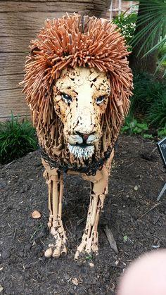 Riverbank Zoo, Lion Sculpture, Statue, Art, Art Background, Kunst, Performing Arts, Sculptures, Sculpture