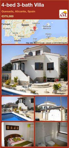 4-bed 3-bath Villa in Quesada, Alicante, Spain ►€375,000 #PropertyForSaleInSpain