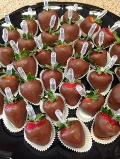 Red Berry Ciroc Infused Chocolate Strawberries & Sophisticated Sweets - and drink cookies food and drink crock pot food and drink detox waters food and drink dips food and drink fish food and drink mexican food and drink signs Food Platters, Chocolate Covered Strawberries, Strawberry With Chocolate, Chocolate Dipped Fruit, Party Snacks, Superbowl Party Food Ideas, Bunco Party, Party Trays, Circus Party