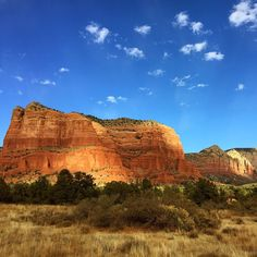 Sedona looks especially alluring in winter, when the rusty-red mountaintops are dusted white. Photo courtesy of meganotravels on Instagram.