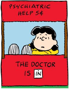 ❤️ #snoopy #peanuts #thegang #peanutsgang #schulz #charlesschulz #charliebrown #lucy #linus #woodstock #marcie #peppermint #patty #belle #sally #snoopyfriends Doctor is in