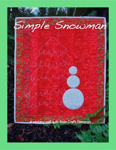 Quilt Inspiration: Free pattern day: Christmas 2015 (part 3)